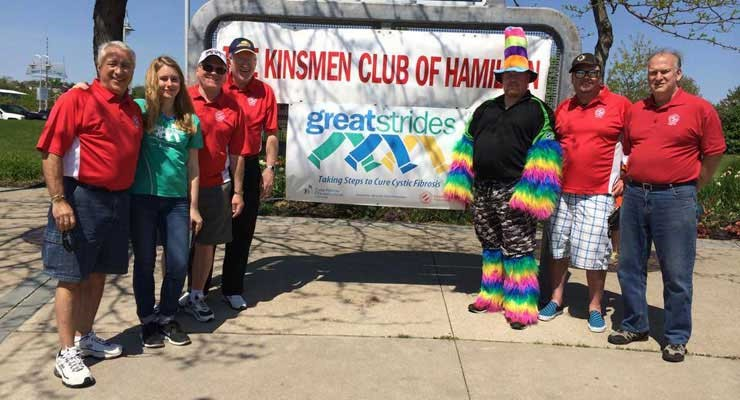 Hamilton Kinsmen Great Strides Walk