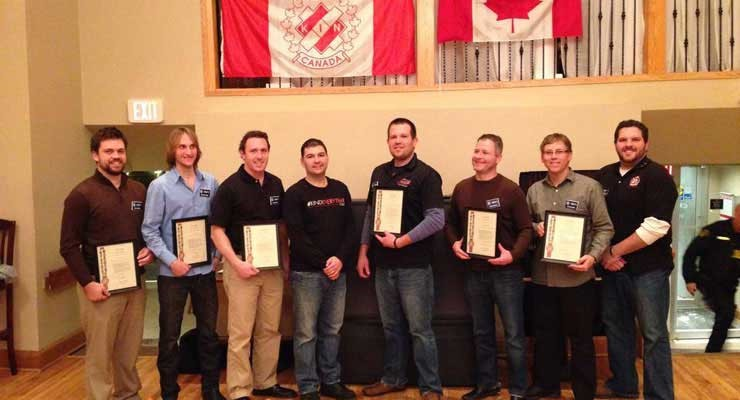 Tillsonburg Kinsmen New Member Installation