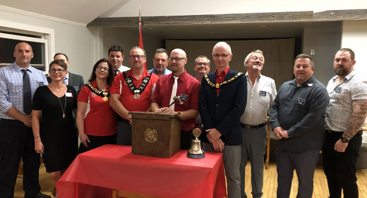 Collingwood Kinsmen Charter Night 2019