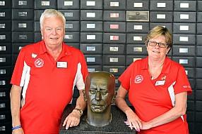Service Directors Bill Roskar and Lisa Burechails