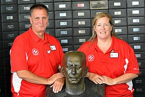 Vice Governors Darryl Van Moorsel and Karen Coutts