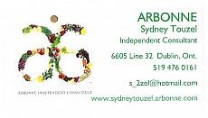 Sydney Touzel, Arbonne