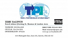 Terry Baldwin - Travel Professionals International