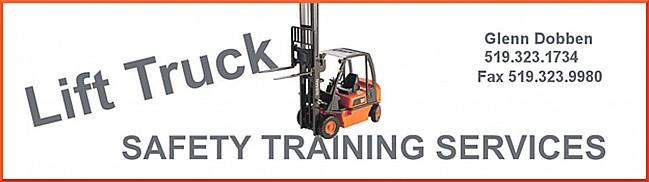 Glenn Dobben, Lift Truck Safety Training Services