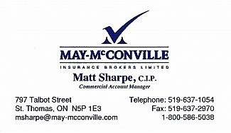 Matt Sharpe - May-McConville Insurance Brokers